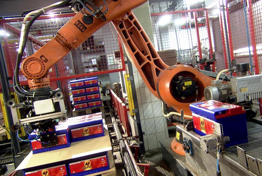 TGW baut Palettenlager: Autobatterien in Warteposition