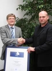 News: Baumüller erhält Arbeitsschutz-Zertifikat