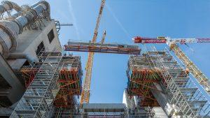 Betonbau: Komplexer Industriebau in nur acht Monaten Rohbauzeit