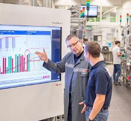 Industrie 4.0 im Bosch-Werk in Stuttgart-Feuerbach