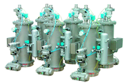 M+P, Fördern: Pneumatische Saugförderung