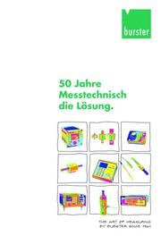 Kataloganzeige: Katalog: burster präzisionsmesstechnik gmbh & co kg
