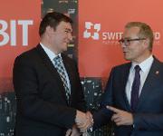 Vertragsunterzeichnung zum CeBIT-Partnerland Schweiz 2016