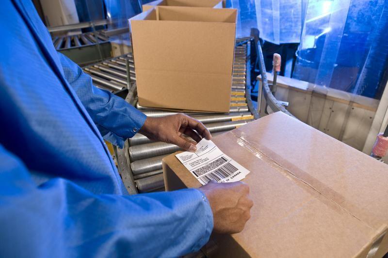 News: Etiketten: Mit Barcode geliefert