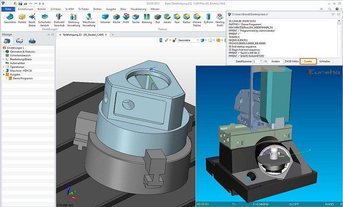 Drahterodieren/Simulation: Neue Plug-ins für ZW3D CAD/CAM