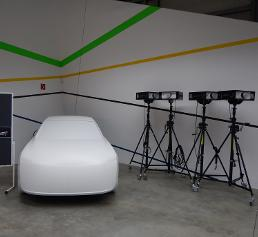 Fahrzeugentwicklung: Fahrzeugmodule vergleichen mittels 3D-Lichtprojektionen