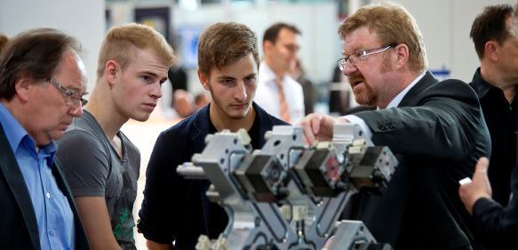 Moulding Expo 2017: Für Schüler und Azubis gibt es wieder viel zu entdecken. (Bild: Messe Stuttgart)