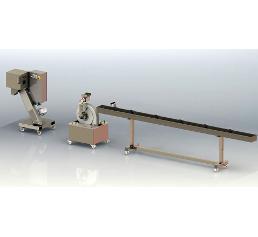 Einzelne Maschinen können zu einer kompletten Granulierstrecke kombiniert werden. (Bild: PT Maschinenbau)