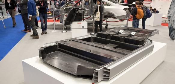 Bodengruppe des Audi A6