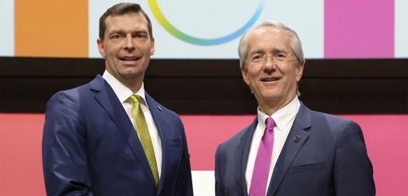Markus Steilemann (links) Patrick Thomas
