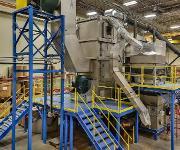 Trockner für Durchsätze bis 150 Tonnen pro Stunde. (Bild: Gala)