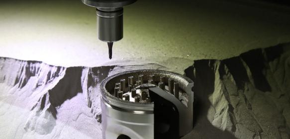 Mit der Hybrid Additive Manufacturing Technologie lassen sich Konstruktionen realisieren, die bislang nicht möglich waren. (Bilder: Alesco)