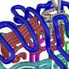 Die Grafik zeigt, wie nah die Kanäle zum Vorheizen und Abkühlen an der Kontur des Werkstücks angelegt werden können. Dies ist nur mit dem schichtweisen Aufbau des Formeneinsatzes möglich. (Bilder: BKL)