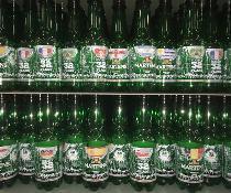 Direkt-Bedruckung der Flasche