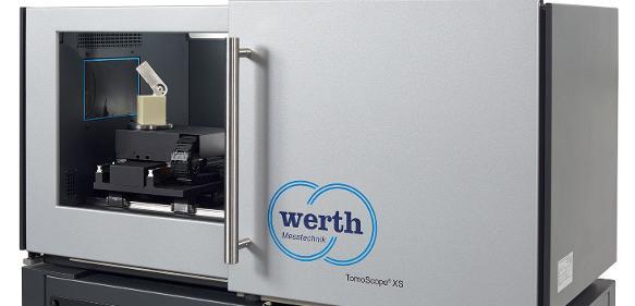 Technik größerer Anlagen der Computertomografie wurde auf kleinere, universell positionierbare Anlagen übertragen. (Bild: Werth)