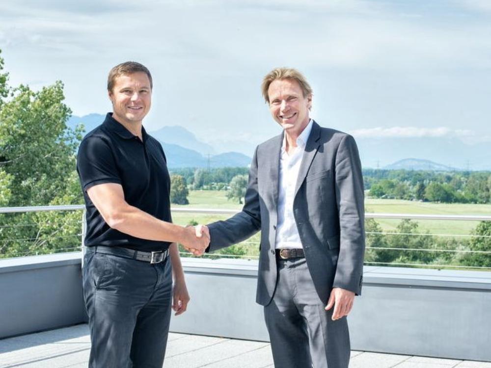Guntram Meusburger und Roland Schmid