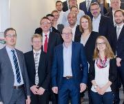Leichtbau-Experten aus Wissenschaft und Wirtschaft trafen sich zum ersten Runden Tisch am Institut für Leichtbau und Kunststofftechnik der TU Dresden (Bild: TUD / ILK)