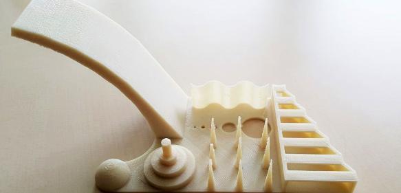 Auch filigrane Objekte lassen sich im 3D-Druck mit verschiedenen Eigenschaften ausrüsten. (Bild: Reprap)
