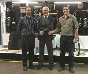 Von links: Ryan Ashley (President REN), Henning Willig (Maximator), Bryan Rattan (REN)