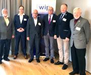 Neuer Vorstand im WIP-Kunststoffe (v.l.): Werner Ternka, Alexander Hein, Rüdiger Baunemann, Norbert Vennemann, Wilhelm Korte-Dirxen, Gerhard Ziegmann. Es fehlt Hans-Josef Endres auf dem Bild.