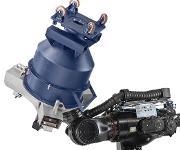 Der automatisierte Containermischer trennt das Mischbehältersystem von der Maschinenbasis. Der Roboter greift sich einfach einen Behälter nach dem anderen einschließlich Mischwerkzeug und startet unverzüglich den folgenden Mischauftrag. (Bild: MIT)