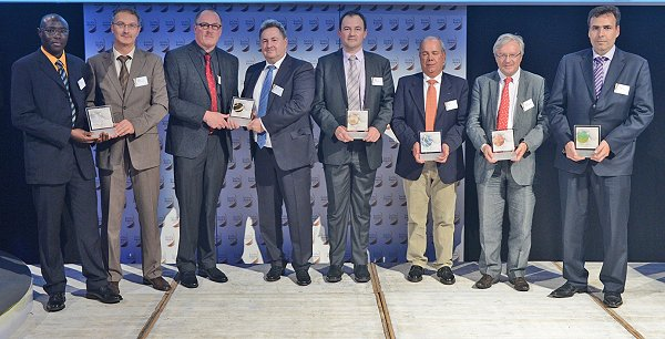 Preisträger des Solvin-Award 2013