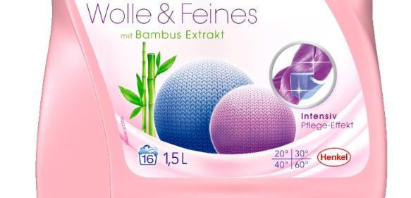 Diese Waschmittel-Flaschen für Henkel enthalten 15 Prozent recyceltes HDPE. (Bild: Henkel)