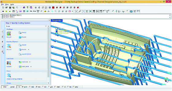Kühlkanal-Designer (CCD)