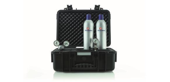 Druckdosen: Gase per Luftfracht transportieren