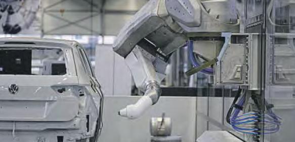Sieben-Achs-Roboter Eco RP E043i