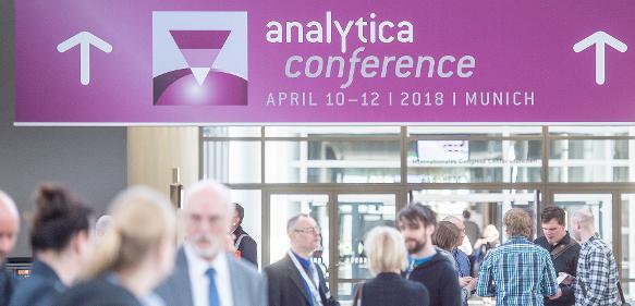 Eingangsbereich Analytica conference