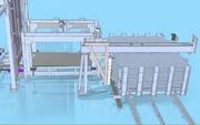Automationslösung für Laminat-Herstellung: Eintafeln, austafeln