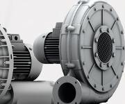 Aluminium High Pressure-Ventilatoren