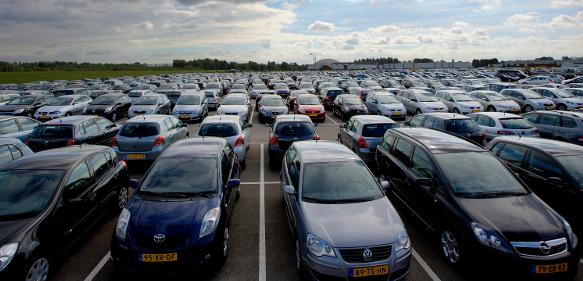 Fahrzeuge über Fahrzeuge