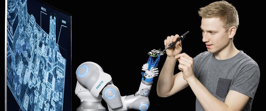 HANNOVER MESSE 2017: Bionische Ansätze in der Robotik