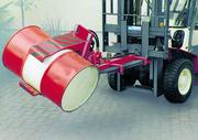 Flurförderzeuge: Fässer leicht entleeren