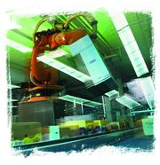 Robotertechnik/Palettierer  (1 S.): Intralogistischer Hochstapler