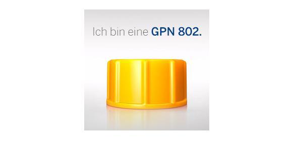 Anzeige - Highlight der Woche: Ich bin eine GPN 802. <br/>Schraubkappen mit Dichtscheibe