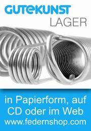 Katalog: Gutekunst + Co. KG Federnfabriken