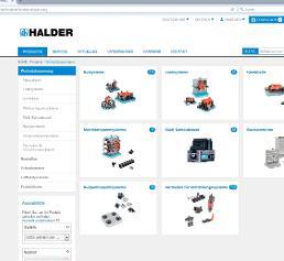 Erwin Halder Produktsuche Online