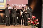 Servopressenbaureihe aiPRESS: 2. Platz beim handling award