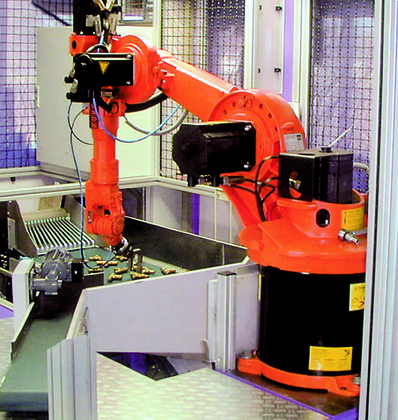 th7 Robo: Flexible Zuführtechnik
