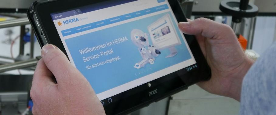 Etikettierer: Herma startet Serviceportal im Internet
