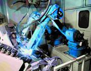 Robotertechnik: Schweißende Roboter