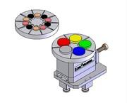 Digitest II mit Rotofix: Prüfung von Rundproben