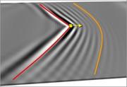 Magnetische Version des Tscherenkov-Effekts entdeckt: Physiker simulieren Effekt zur Erzeugung von Spinwellen