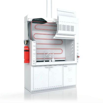 Feuerlöschsystem: Feuerdetektions- und Löschsystem: Neues Konzept