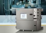 Chromatographie: Gaschromatograph von Siemens mit neuem Bedienfeld und zusätzlicher Ofen-Variante