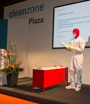 News: Cleanzone 2013 mit Fokus auf Technologie und Life Sciences