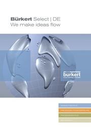 News: Neuer Katalog präsentiert das Bürkert Produkt-Portfolio in Kurzform